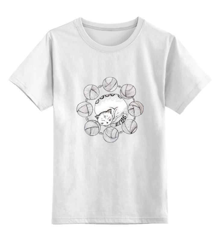 Printio Детская футболка классическая унисекс Обернусь я белой кошкой...