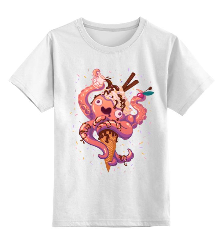 printio детская футболка классическая унисекс крик кальмара Printio Детская футболка классическая унисекс Крик кальмара