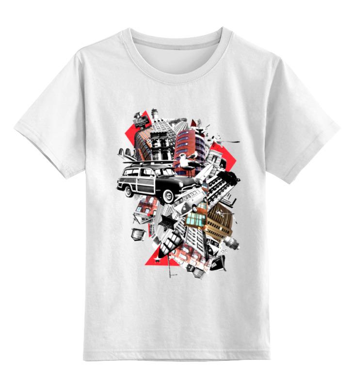 Printio Детская футболка классическая унисекс Gorod
