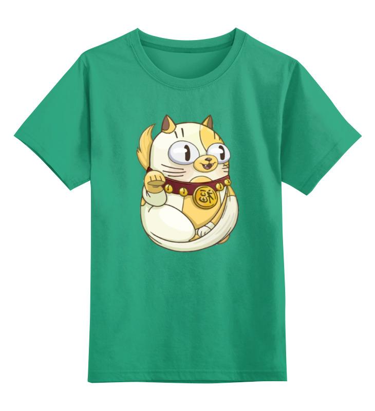 Printio Детская футболка классическая унисекс Милый котик