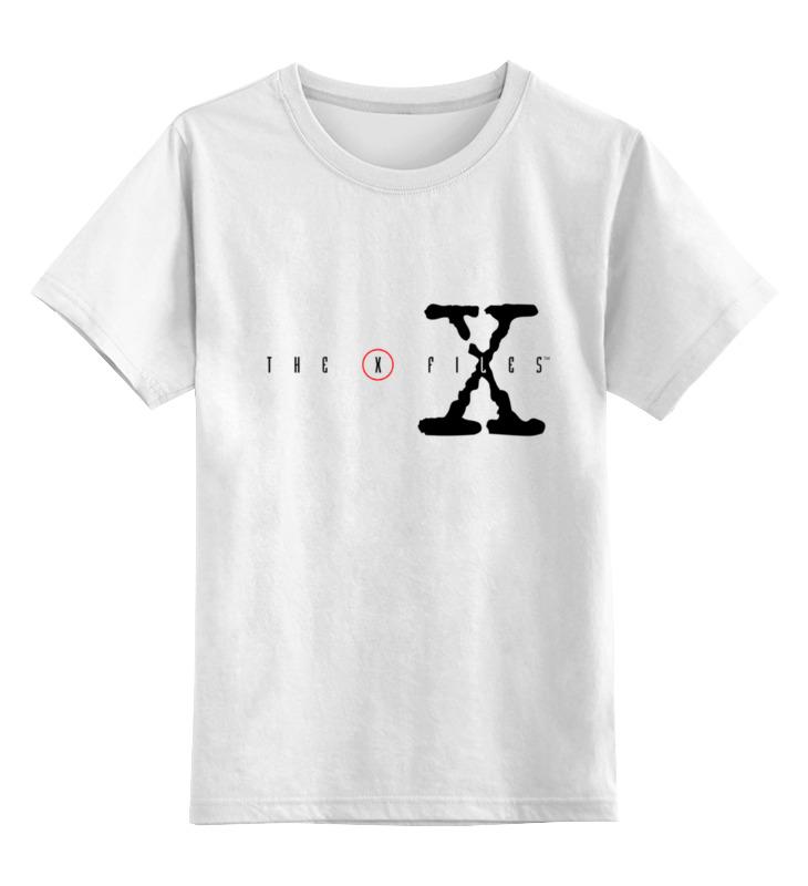 Фото - Printio Детская футболка классическая унисекс X files printio детская футболка классическая унисекс hunter x hunter