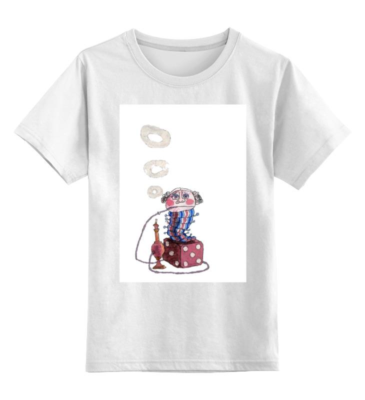 Printio Детская футболка классическая унисекс Странная гусеница курит кальян