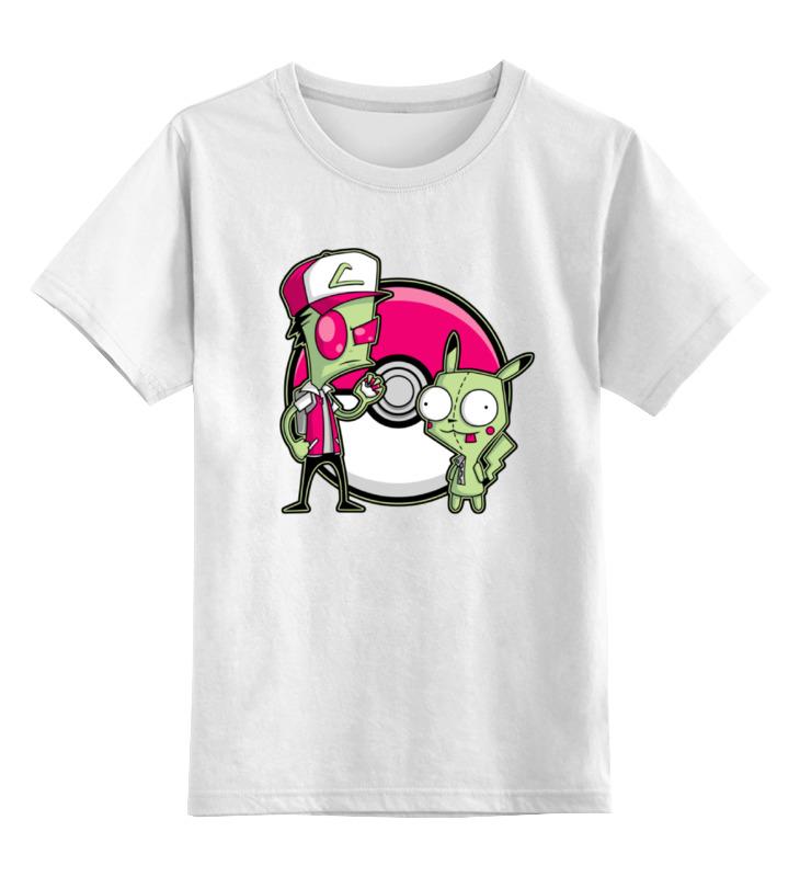 Фото - Printio Детская футболка классическая унисекс Захватчик зим (покемон) футболка классическая захватчик зим покемон 1970542 цвет белый пол муж качество эконом размер 3xl