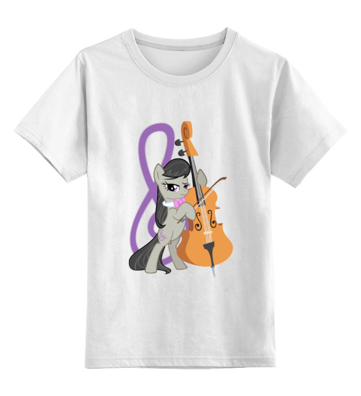 Printio Детская футболка классическая унисекс Octavia cutiemark | октавия кьютимарка printio майка классическая octavia cutiemark октавия кьютимарка