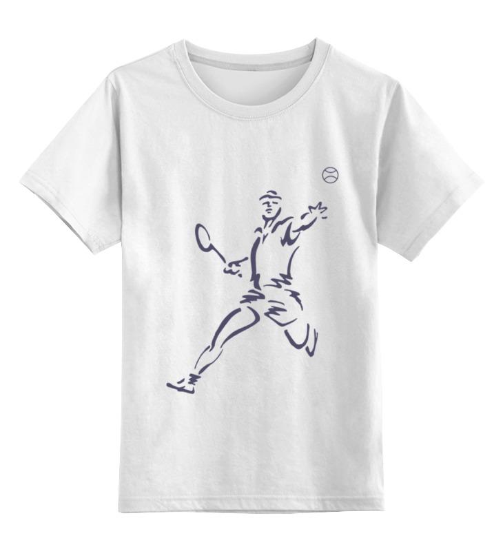 Printio Детская футболка классическая унисекс Большой теннис
