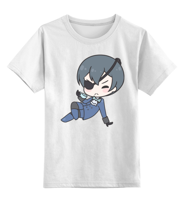 Printio Детская футболка классическая унисекс Black butler printio майка классическая black butler