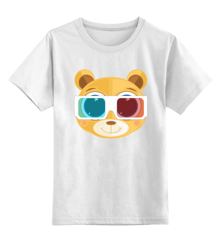 Printio Детская футболка классическая унисекс Медведь 3д