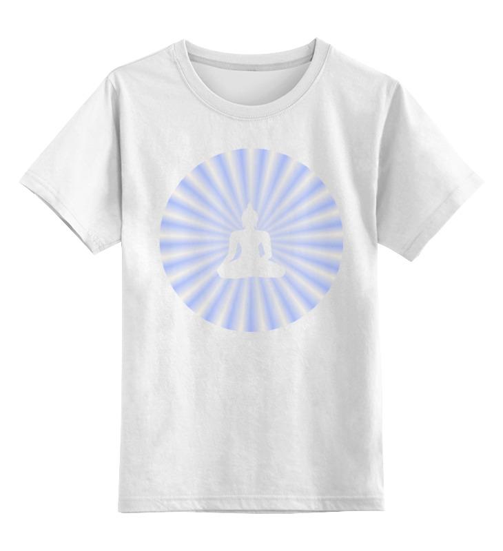 Printio Детская футболка классическая унисекс Сияние будды золотые правила будды мудрость в заповедях и наставлениях