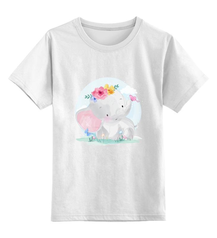 printio детская футболка классическая унисекс hadgehog Printio Детская футболка классическая унисекс Слоненок