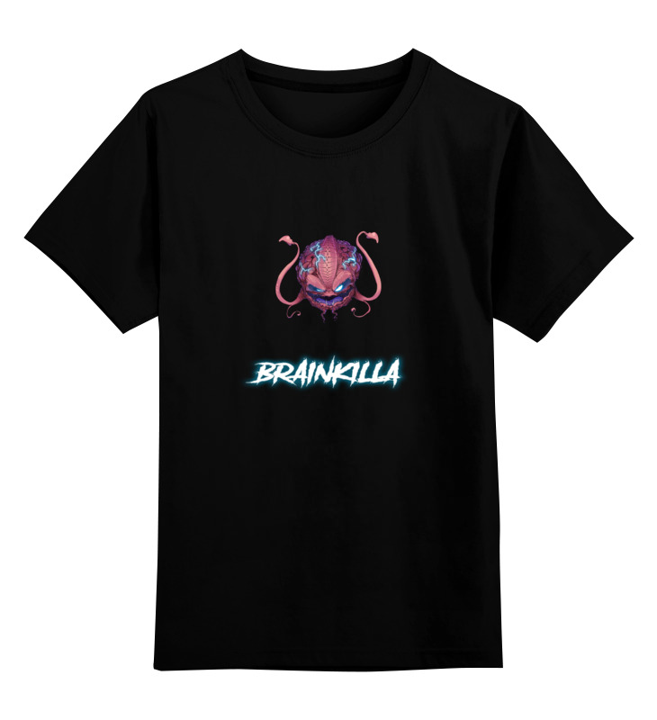 Printio Детская футболка классическая унисекс Merch brainkilla