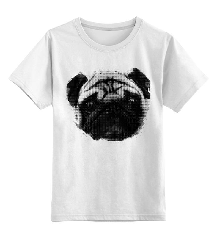 Printio Детская футболка классическая унисекс Pug fan print printio свитшот унисекс хлопковый pug fan print