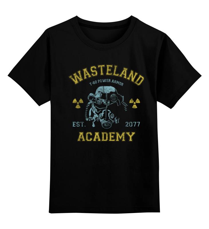 Printio Детская футболка классическая унисекс Fallout. wasteland academy футболка тренировочная женская nike academy 893741 361
