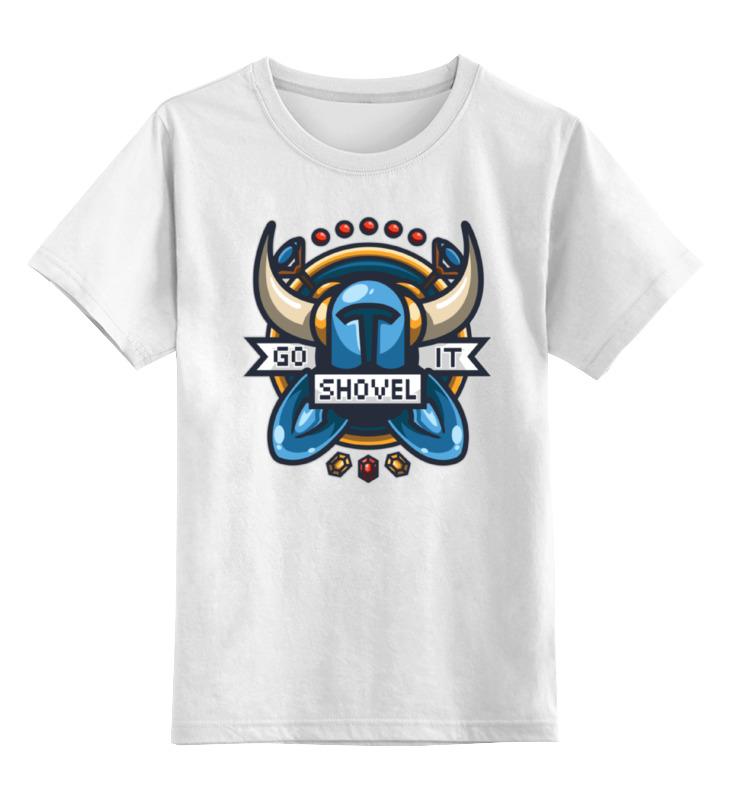 Printio Детская футболка классическая унисекс Рыцарь лопаты