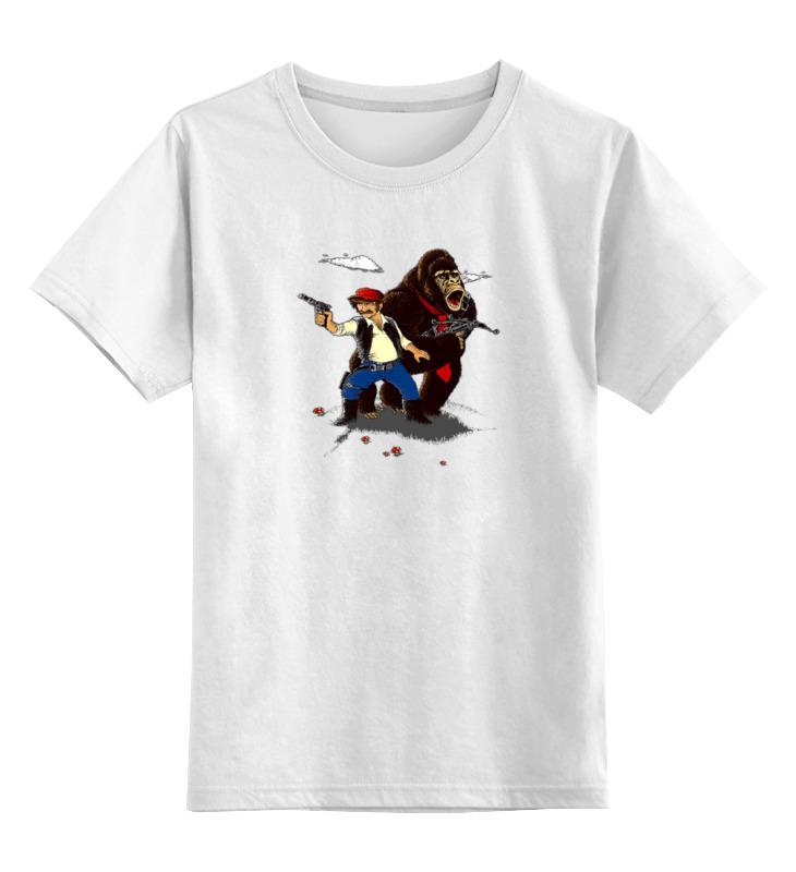 Printio Детская футболка классическая унисекс Кинг конг жив
