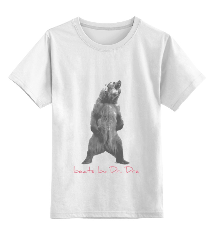 Printio Детская футболка классическая унисекс Beats by dre футболка