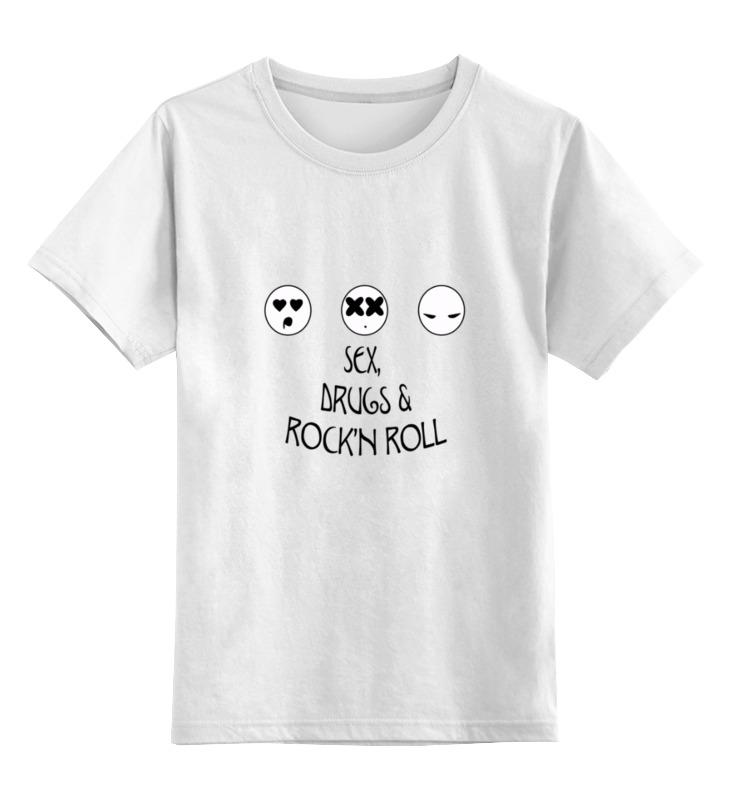 Printio Детская футболка классическая унисекс Sex, drugs and rock'n roll printio футболка классическая rock and roll
