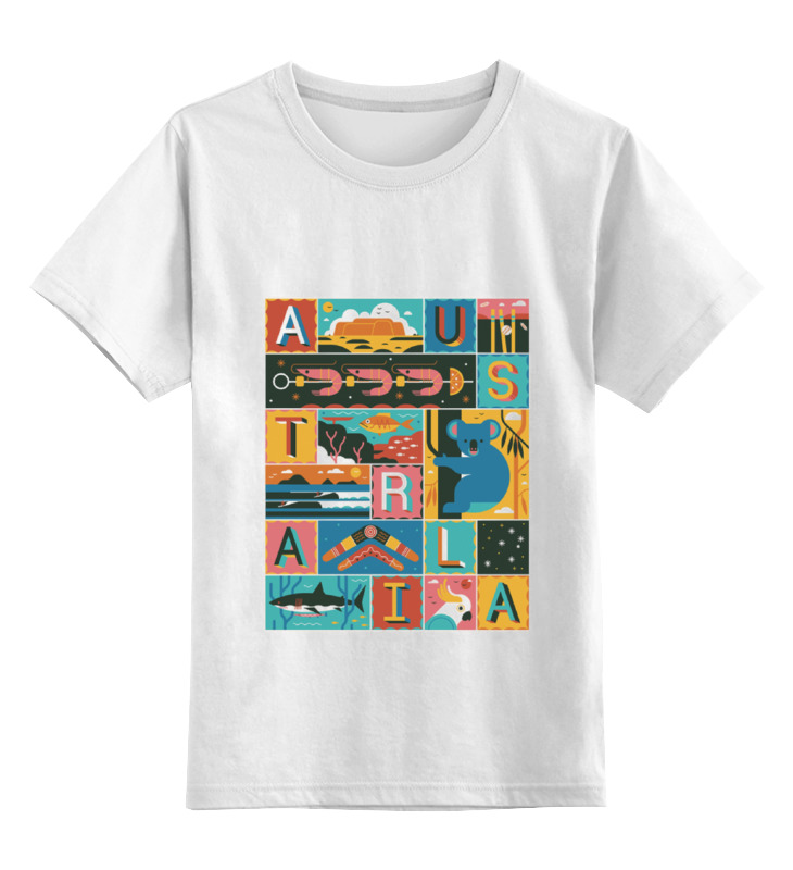 Printio Детская футболка классическая унисекс Австралия