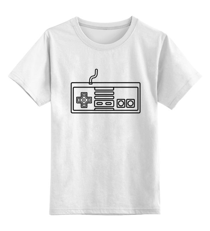 printio детская футболка классическая унисекс покемоны 8 бит драконы Printio Детская футболка классическая унисекс Джойстик 8 бит