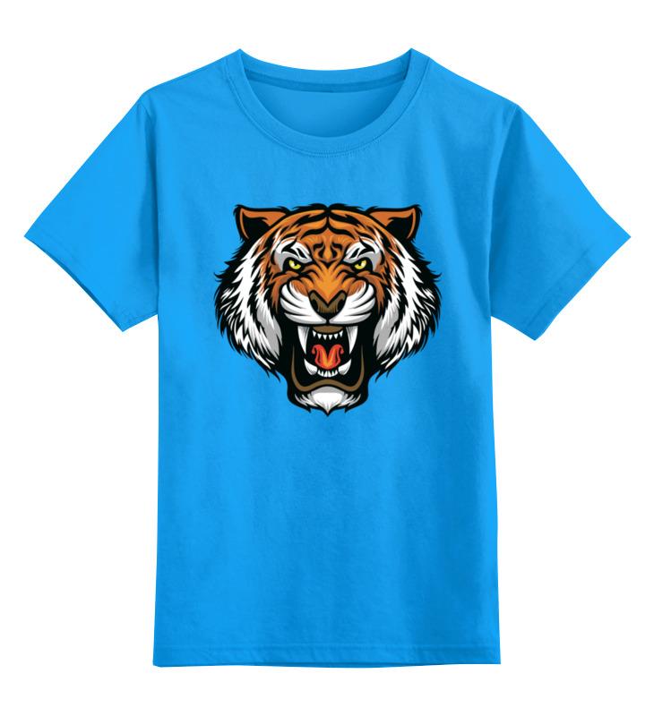 Printio Детская футболка классическая унисекс ◈тигр◈