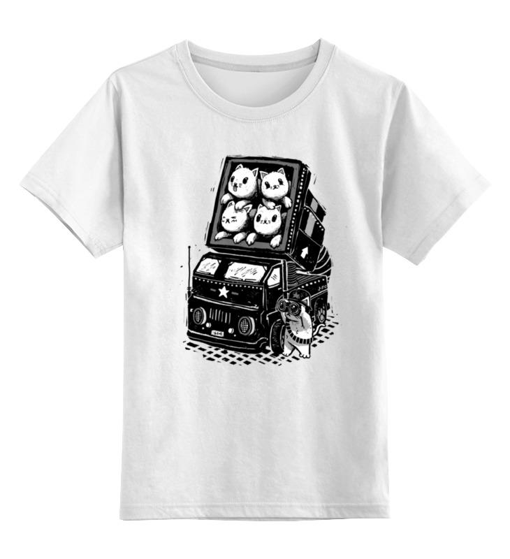 Printio Детская футболка классическая унисекс Ракетные коты