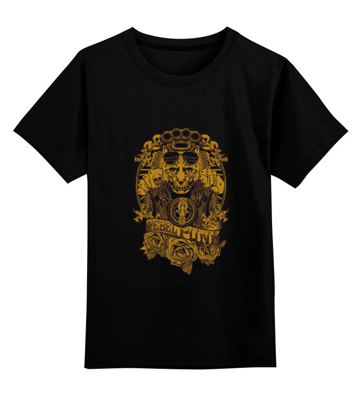 Printio Детская футболка классическая унисекс Rebel punk