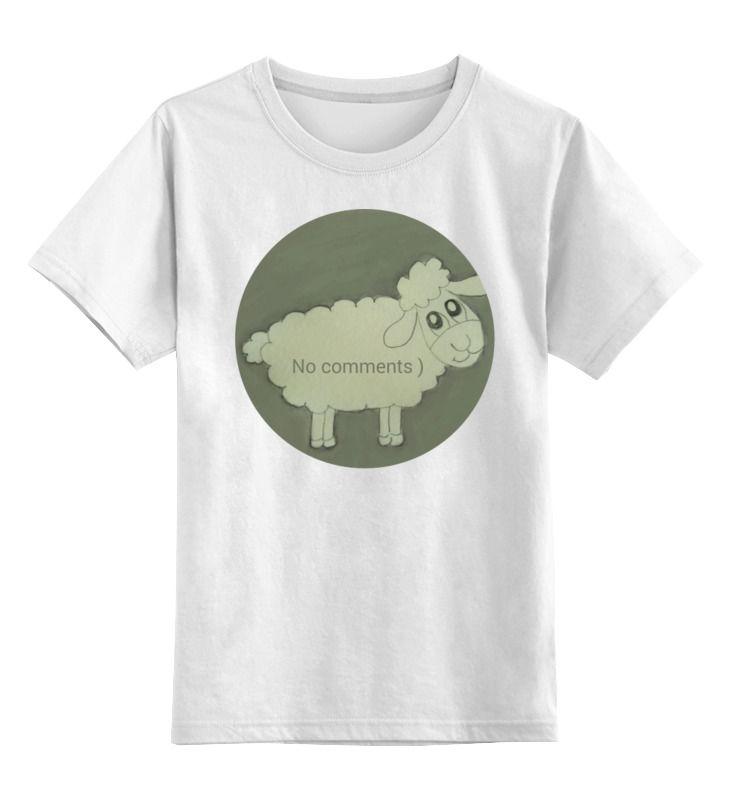 Фото - Printio Детская футболка классическая унисекс Детская овечка printio футболка классическая овечка