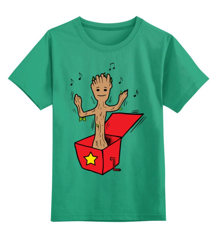Printio Детская футболка классическая унисекс Грут (стражи галактики) недорого