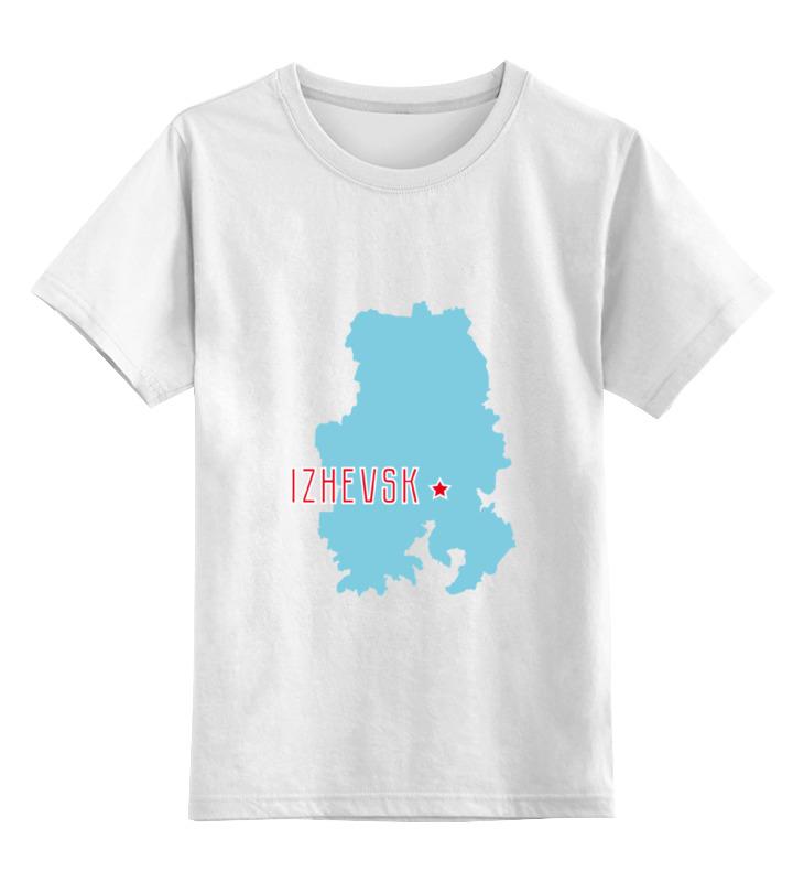 Printio Детская футболка классическая унисекс Республика удмуртия. ижевск