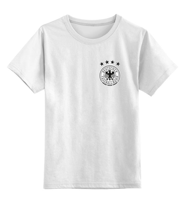 Printio Детская футболка классическая унисекс Сборная германии по футболу 2016