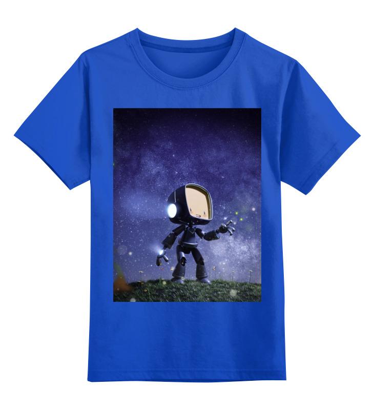 Printio Детская футболка классическая унисекс Маленький бот