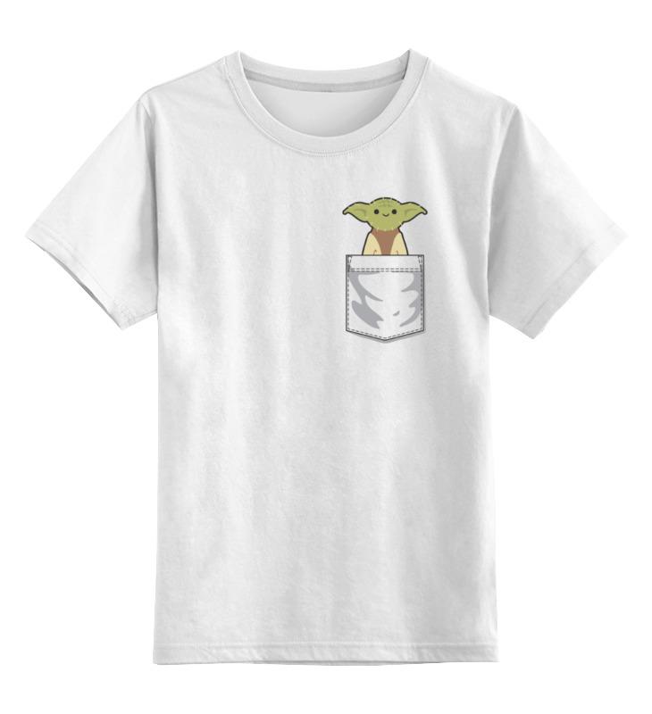 Printio Детская футболка классическая унисекс Мастер йода (star wars) printio кружка йода