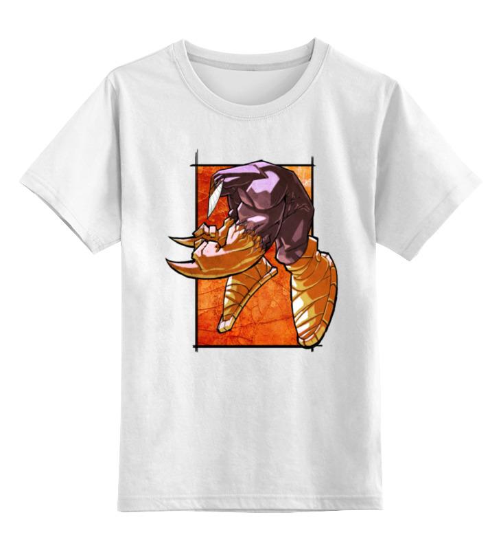 детская футболка классическая унисекс printio джентльмен боец Printio Детская футболка классическая унисекс Крутой боец