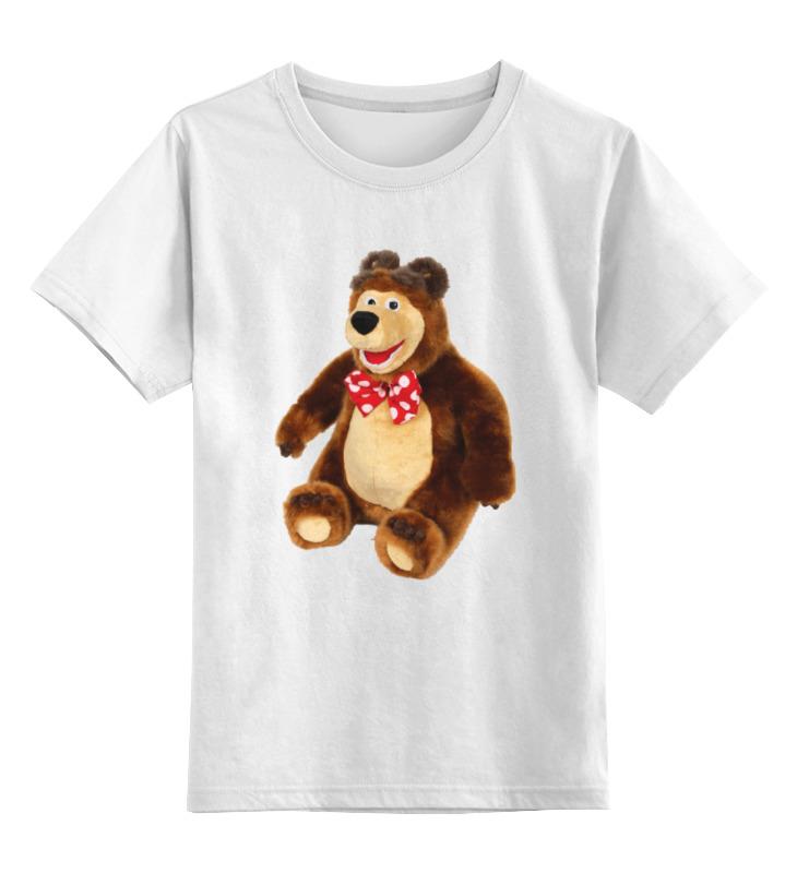 Printio Детская футболка классическая унисекс Медведь.мягкая игрушка. любимый мульт.