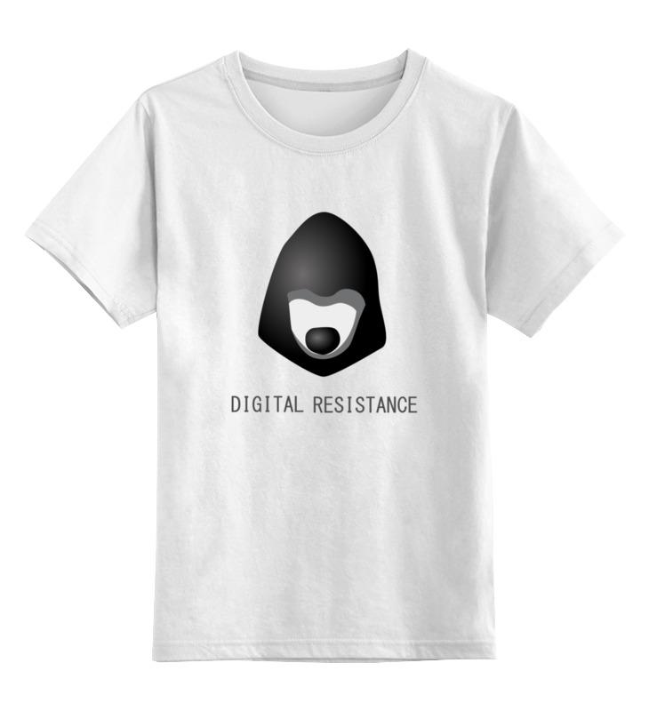 Printio Детская футболка классическая унисекс цифровое сопротивление