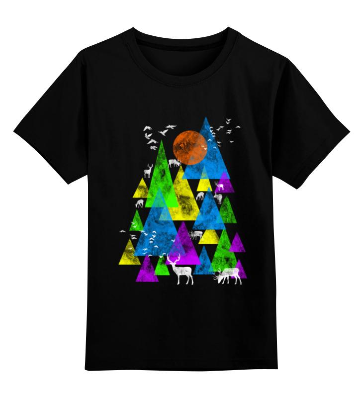 Printio Детская футболка классическая унисекс Горные олени
