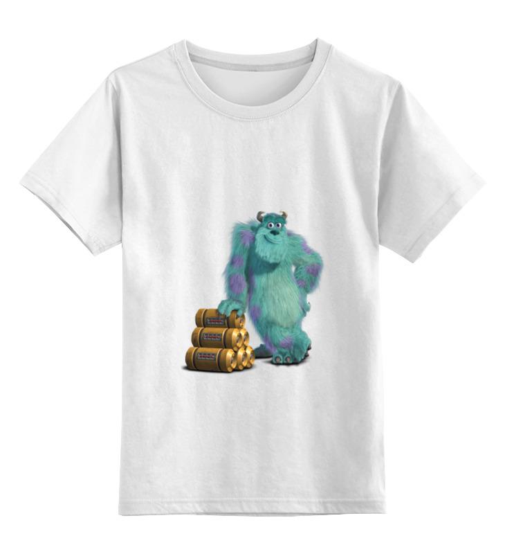 Printio Детская футболка классическая унисекс Джеймс пи салливан (салли)