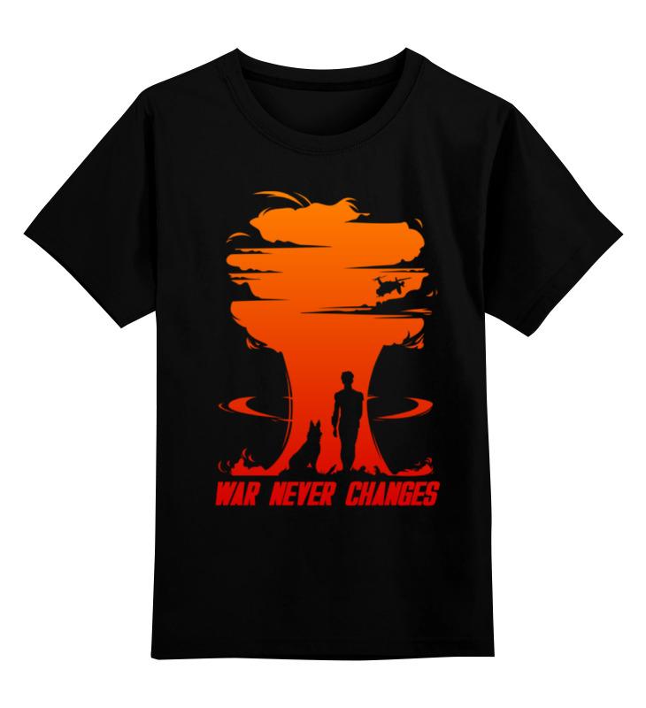 Printio Детская футболка классическая унисекс Fallout. war never changes