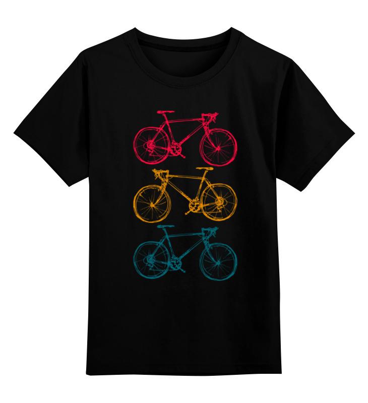 Printio Детская футболка классическая унисекс Велосипеды