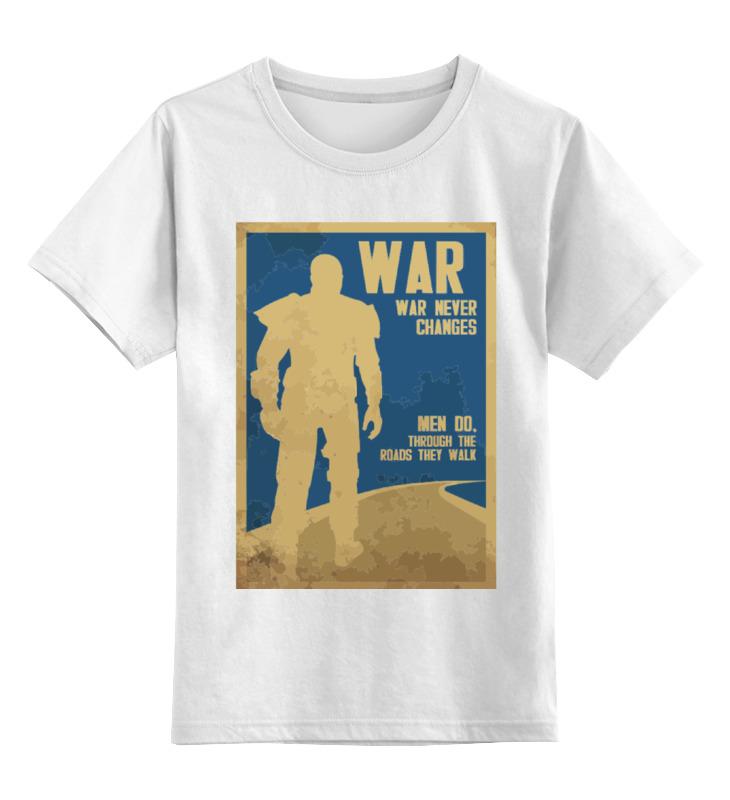 Printio Детская футболка классическая унисекс Fallout - war never changes