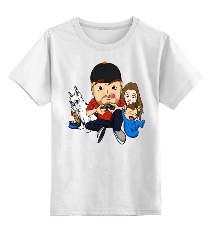 Printio Детская футболка классическая унисекс Жизнь геймера