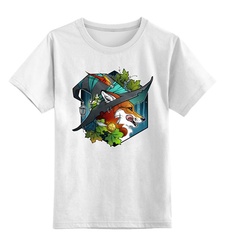 Фото - Printio Детская футболка классическая унисекс Witch fox printio футболка классическая witch house