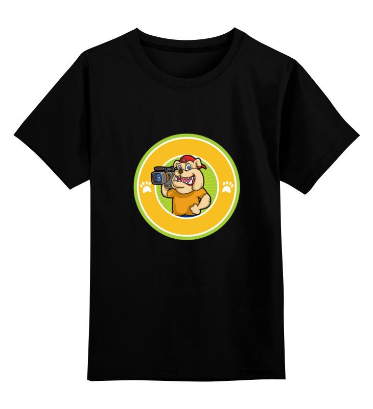 Printio Детская футболка классическая унисекс Пёс-оператор