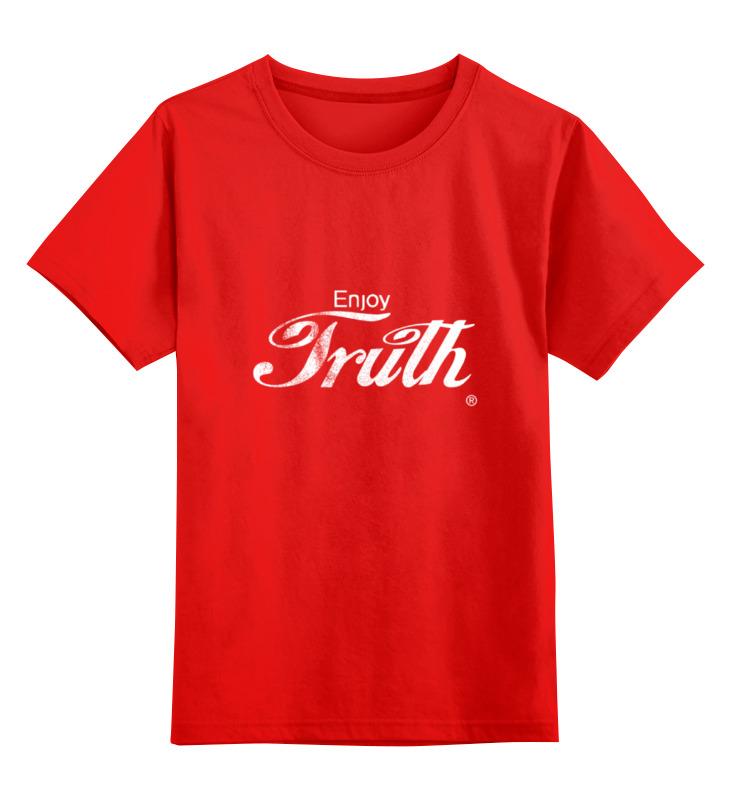 Фото - Printio Детская футболка классическая унисекс Coca cola enjoy truth! printio детская футболка классическая унисекс coca cola enjoy truth