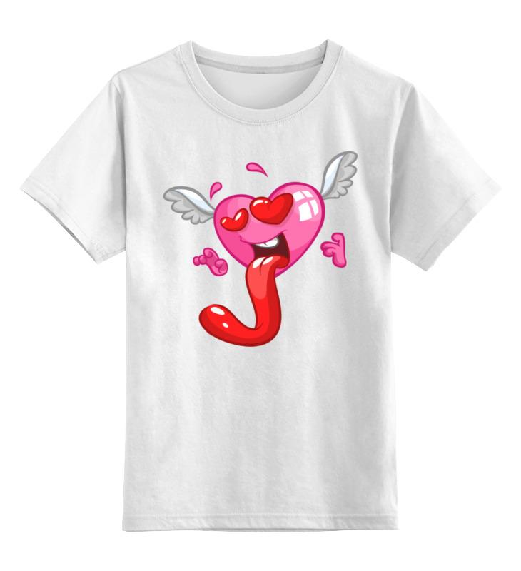 Фото - Printio Детская футболка классическая унисекс Сердце printio футболка классическая 3 индийских символа для счастливой жизни