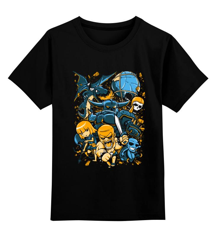 Printio Детская футболка классическая унисекс Clash of clans