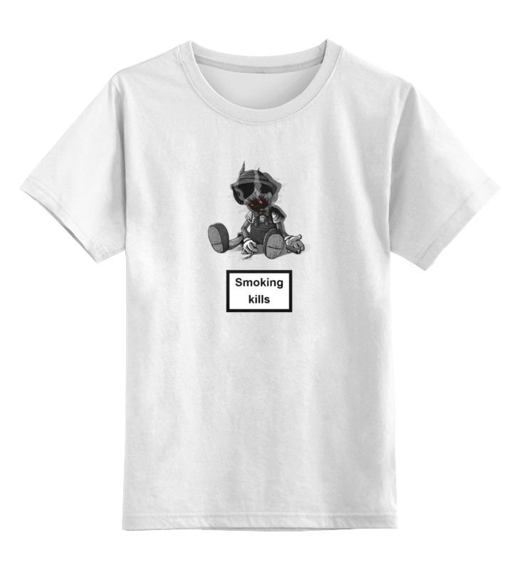Printio Детская футболка классическая унисекс Smoking kills smoking kills