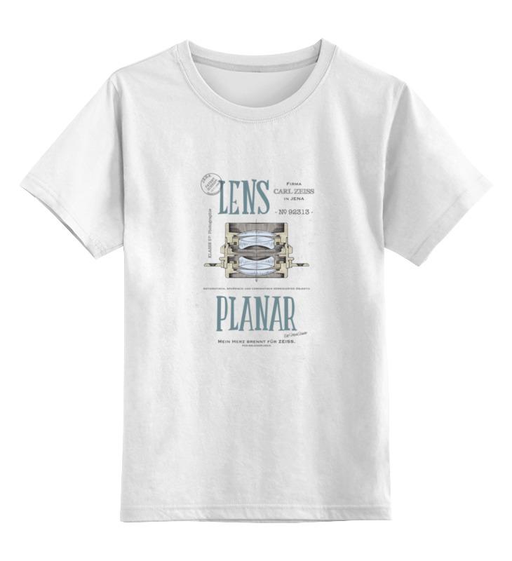 Printio Детская футболка классическая унисекс Lens planar