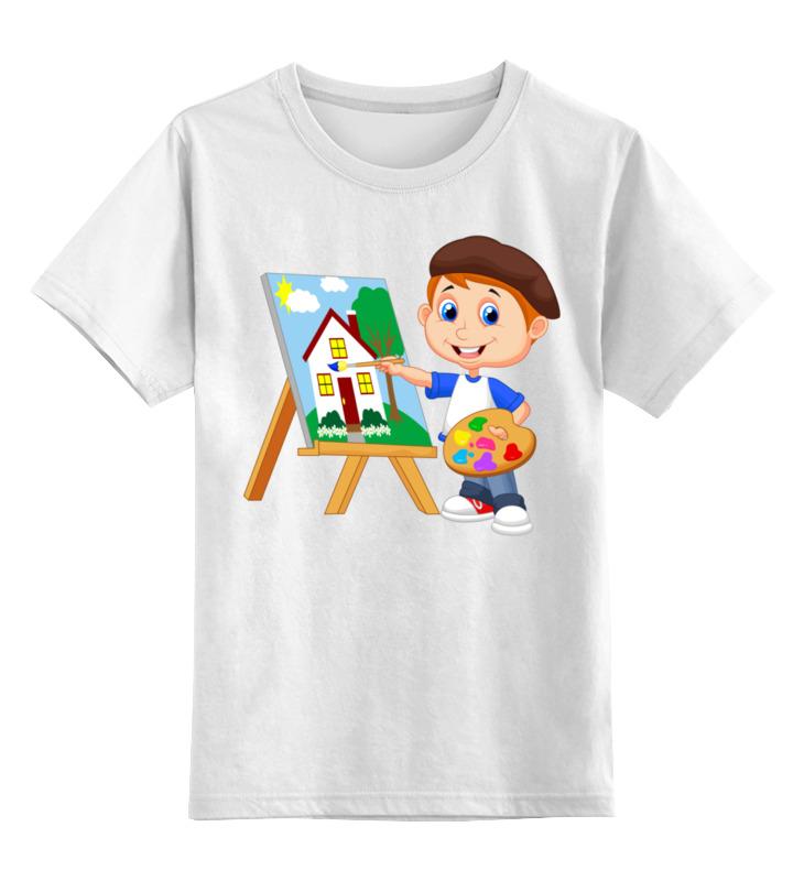 Printio Детская футболка классическая унисекс Художник
