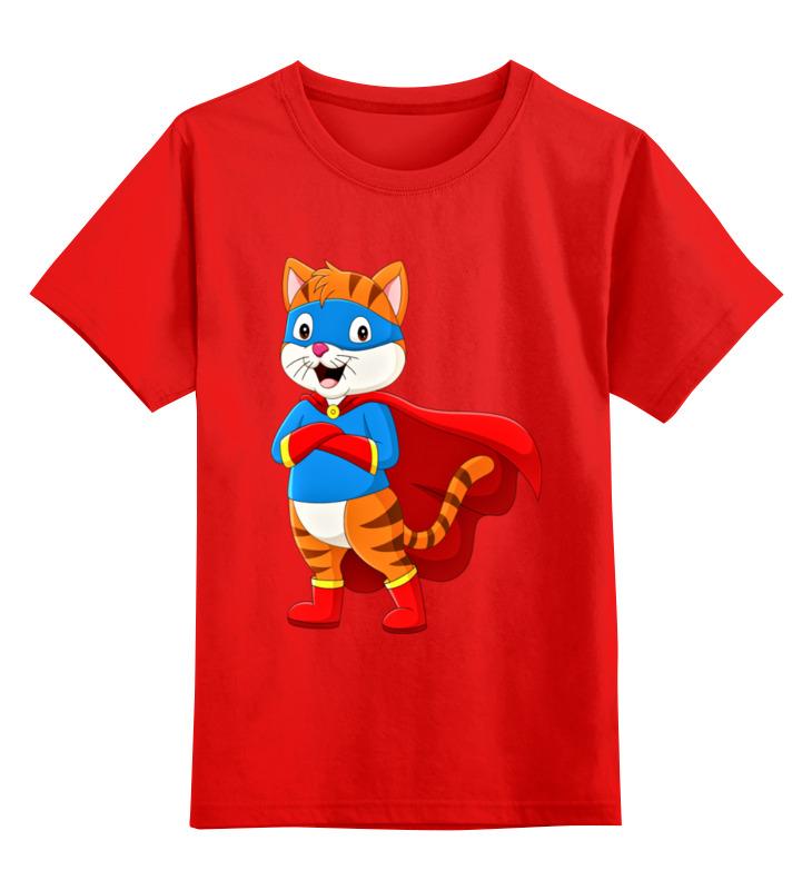 Фото - Printio Детская футболка классическая унисекс Супер котэ printio футболка классическая королева котэ