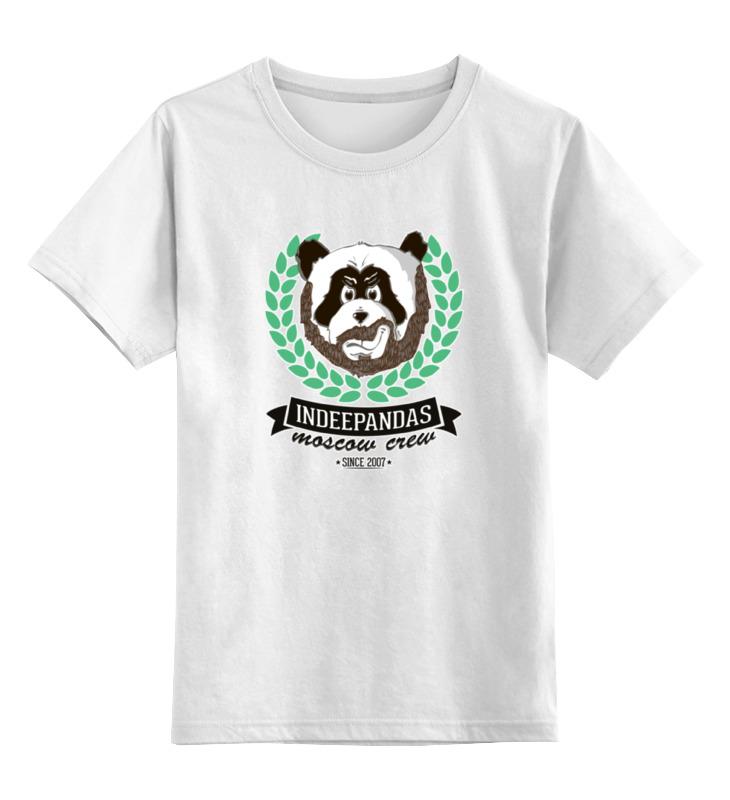 Printio Детская футболка классическая унисекс Indeepandas moscow crew with outline